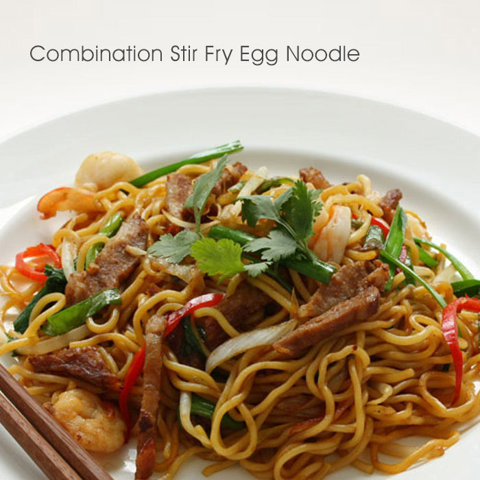 Combination Stir Fry Egg Noodle