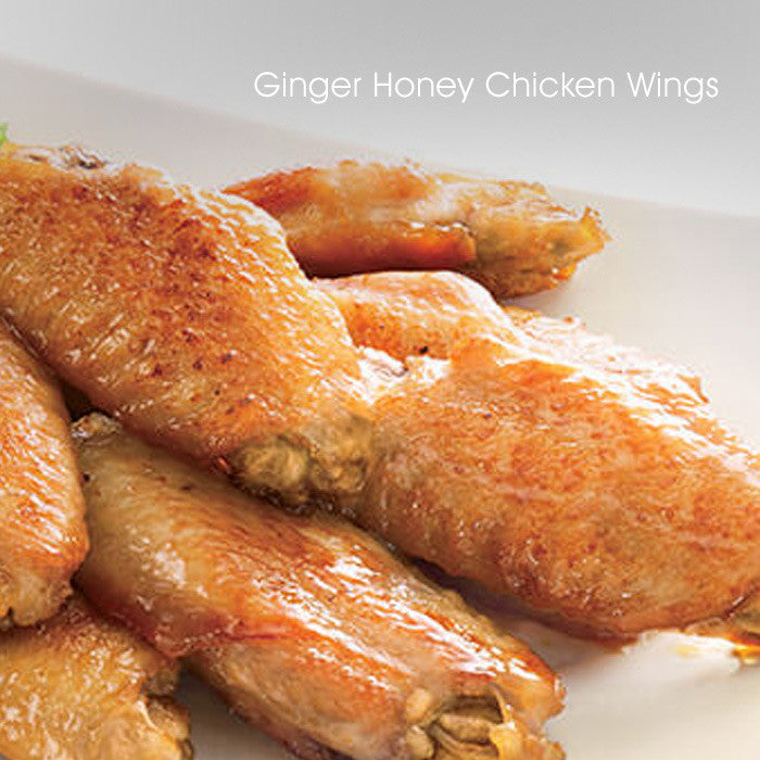 Ginger Honey Chicken Wings