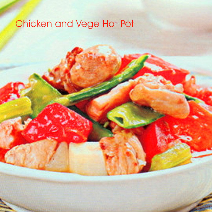 Chicken and Vege Hot Pot
