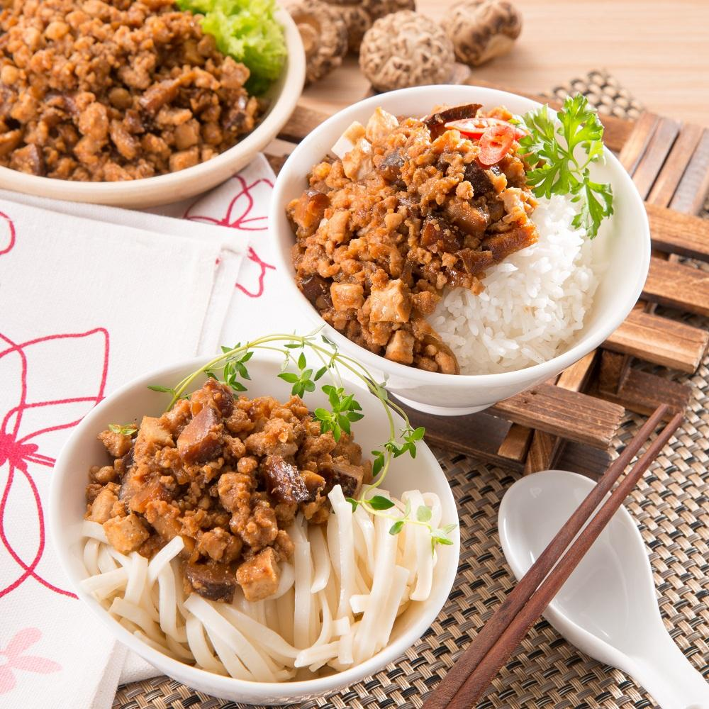 Braised Minced Pork with Mushroom