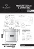 Buffalo Commercial Series Pressure Cooker and Canner 35L