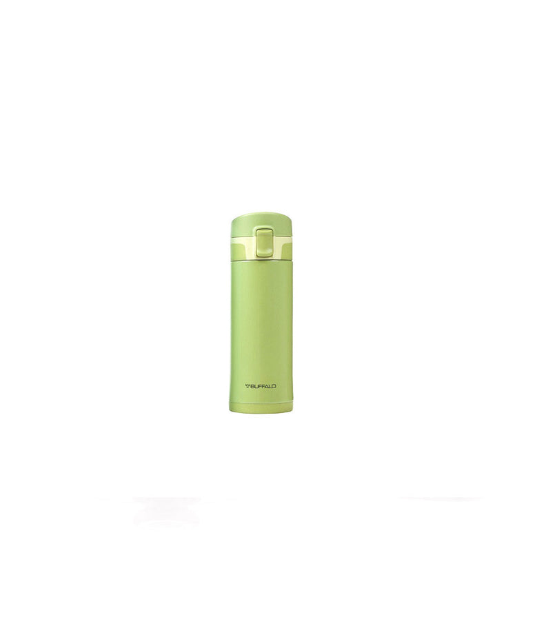 BUFFALO One-touch Vacuum Flask 350ml Green