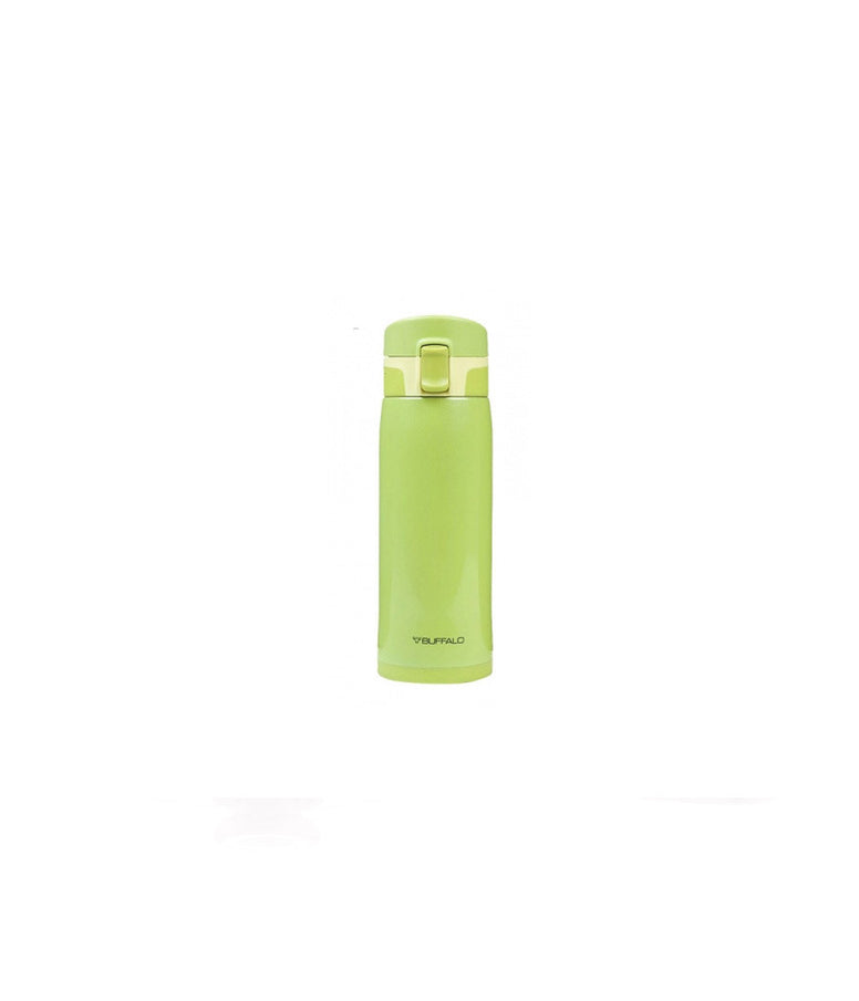 BUFFALO One-touch Vacuum Flask 450ml Green