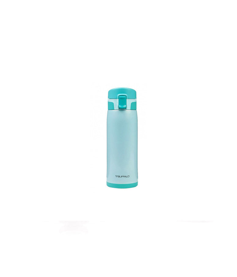 BUFFALO One-touch Vacuum Flask 450ml Blue