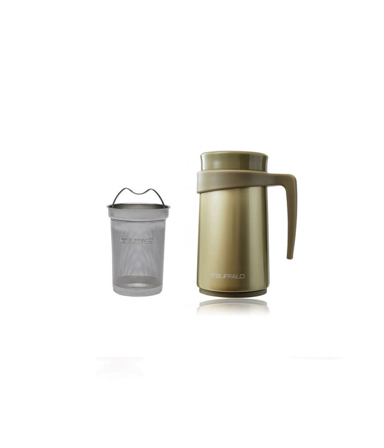 BUFFALO Vacuum Mug 420ml Gold