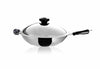 Buffalo Classic 35cm Long Handle Wok & Pot Set