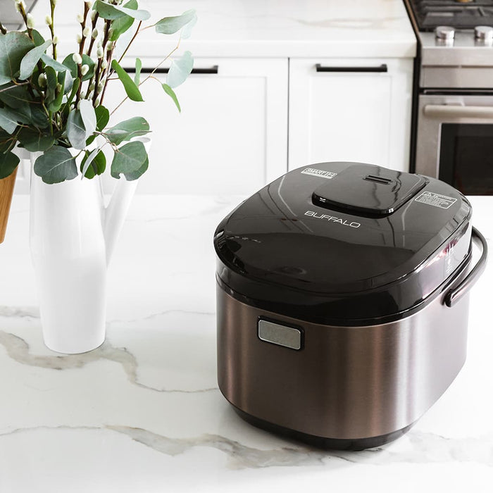 Buffalo IH Smart Stainless Steel Rice Cooker (10 cups)