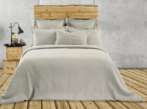 Rustic Jersey Quilted Duvet Cover