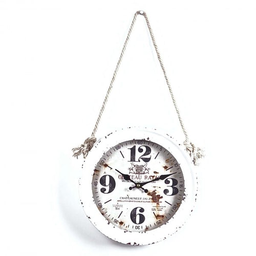 Rustic Rope Clock