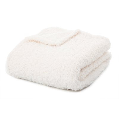 Fleece Faux Sheep Throw