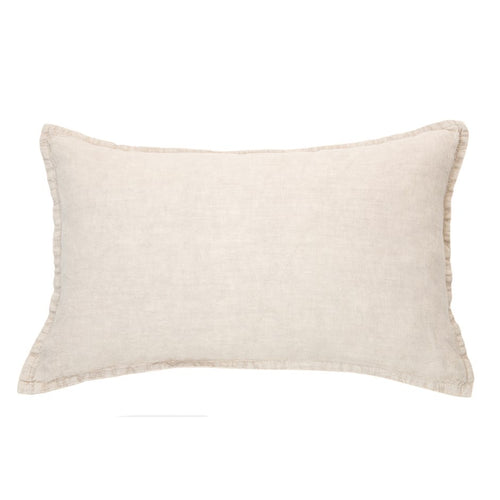 Arriving in Feb! Linen Stone Wash Light Pink Cushion