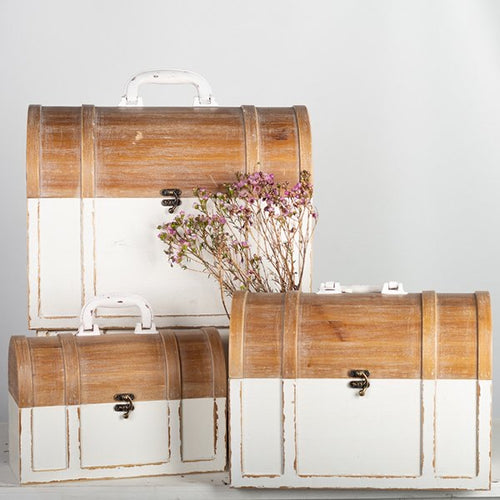 Antiqued Decorative Briefcases