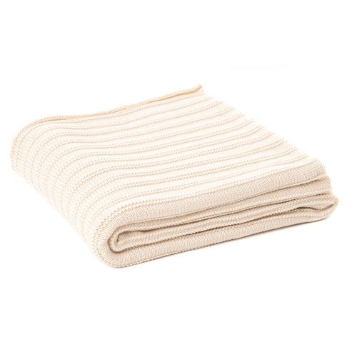 Maroun Cream Throw