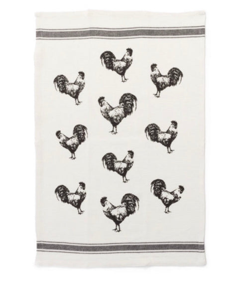 Farmhouse Rooster Tea Towel