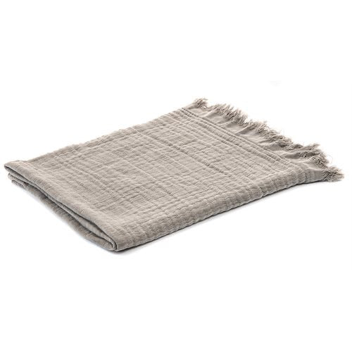 Bloom Grey Throw