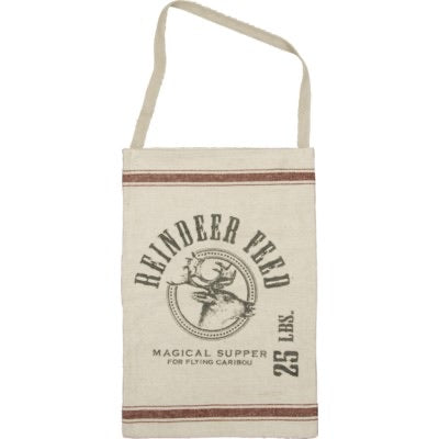 AS IS- Reindeer Feed Hanging Bag