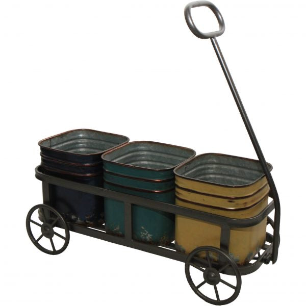 Flower Pot Wagon