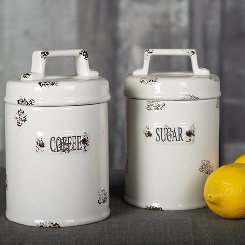 Coffee & Sugar Canisters