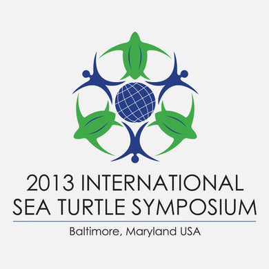 The 33rd annual sea turtle symposium logo. The theme was