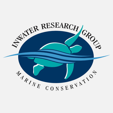 A not-for-profit corporation whose mission is to provide the scientific community and general public with information to promote conservation of coastal and marine species and their habitats. The logo is a graphic sea turtle swimming through water.