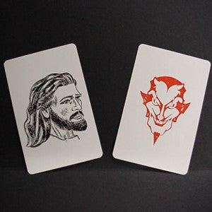 CHRIST AND THE DEVIL POCKET SIZE