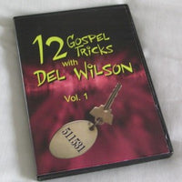 12 GOSPEL TRICKS WITH DEL WILSON VOL. 1