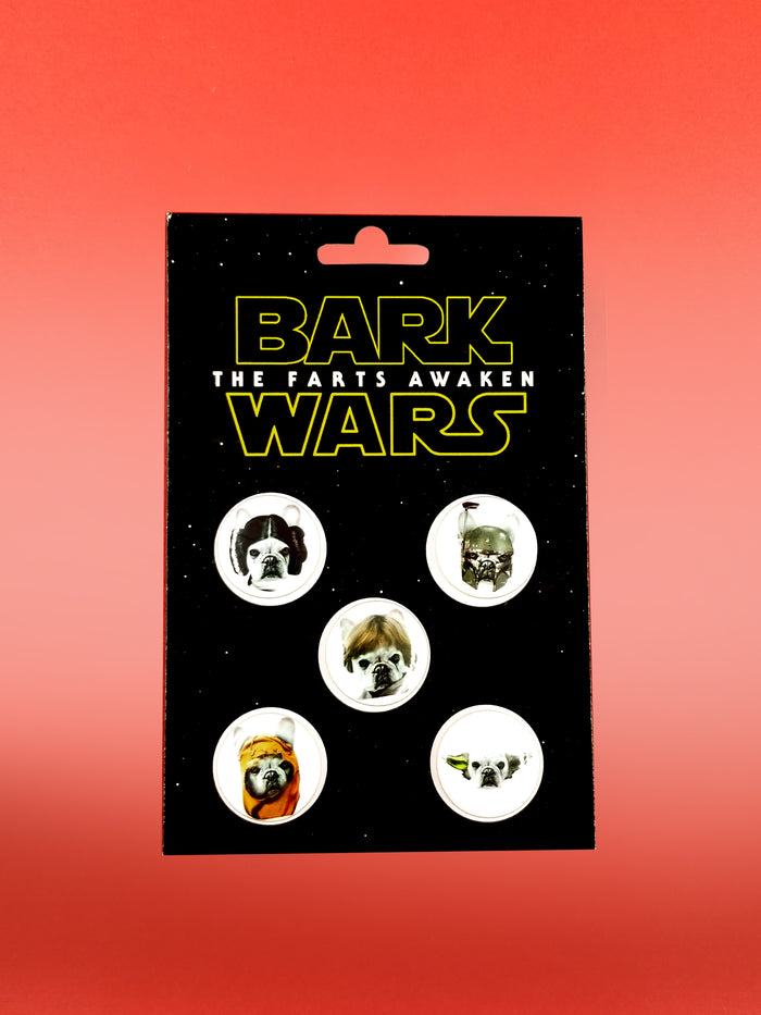Bark Wars Pin Set