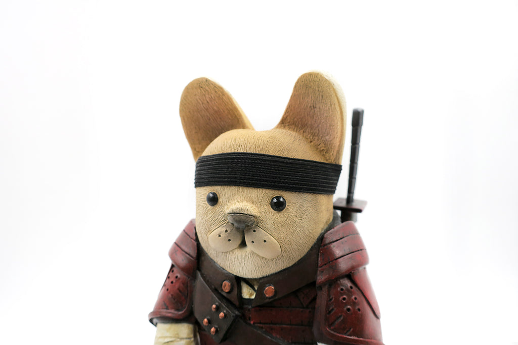 Okita The Reluctant French Bulldog Samurai Assassin