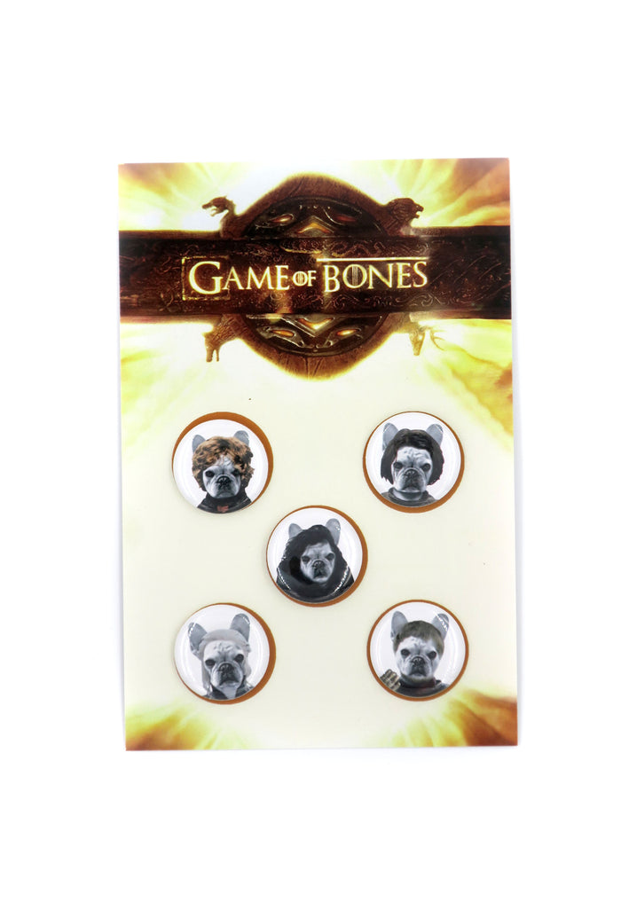 Game of Bones Pin Set
