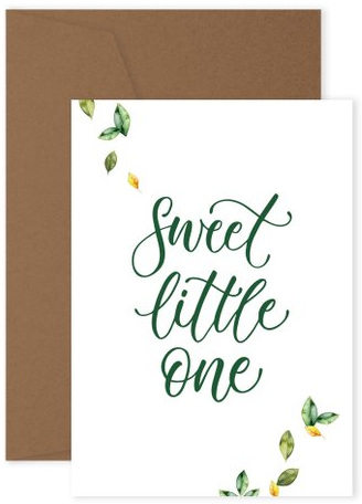 Sweet little one - Greeting Card - Hello Balloons