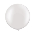 80cm white pearl latex balloon - HELIUM NOT INCLUDED - Hello Balloons