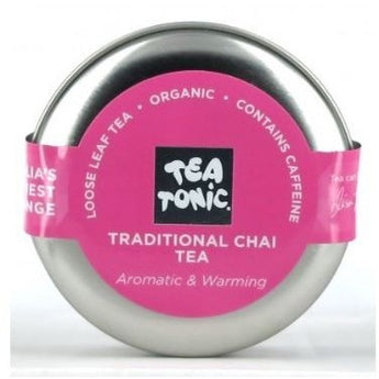 Tea Tonic Chai Tea Travel Tin - Hello Balloons
