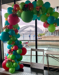 Custom order - Tropical Garland - Hello Balloons