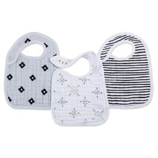 Aden & Anais Lovestruck 3 Pack Snap Bibs ** FREE STANDARD DELIVERY ** - Hello Balloons