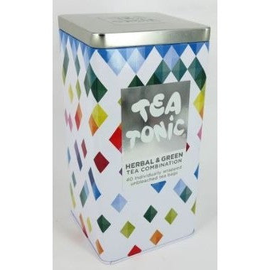 Tea Tonic Herbal & Green Tea Tin - Hello Balloons