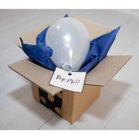 Pop me! balloon - blue ** EXPRESS POST DELIVERY INCLUDED ** - Hello Balloons