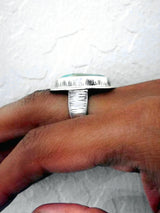 Alignment Ring - OOAK - size 6.75
