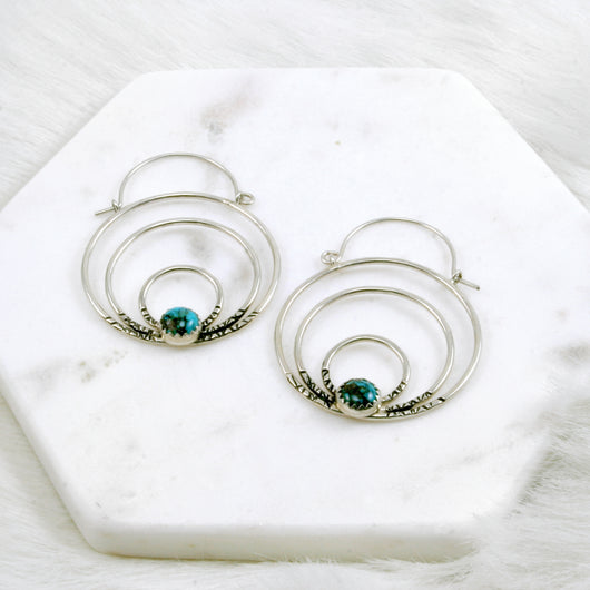 Daybreak Hoop Earrings
