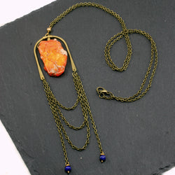 Abundance Necklace - Orange