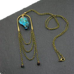 Abundance Necklace - Blue
