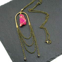Abundance Necklace - Pink