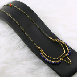 Metis Necklace - Blue