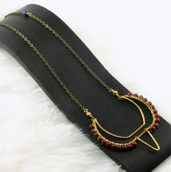 Metis Necklace - Red