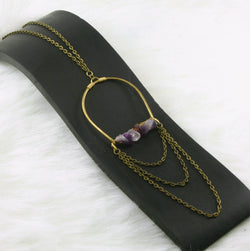 Kismet Necklace - Amethyst
