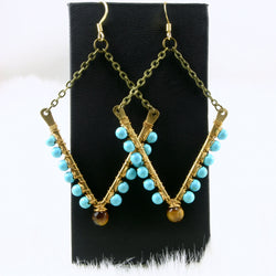Tara Earrings - Turquoise