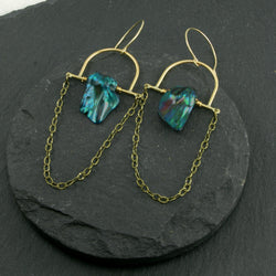 Intuition Earrings - Blue