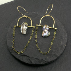 Intuition Earrings - Grey