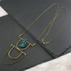 Intuition Necklace - Blue