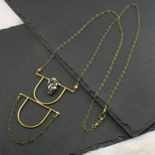 Intuition Necklace - Grey