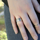 Rays of Light Unisex Band Ring